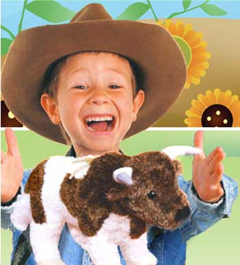 Click here to see Stuffed Cows!